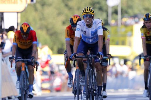 Enric Mas durante su participación en el Tour.