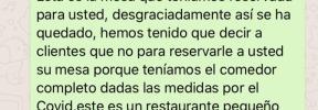 El mensaje de un restaurante a un cliente que no se presentó a su reserva se hace viral
