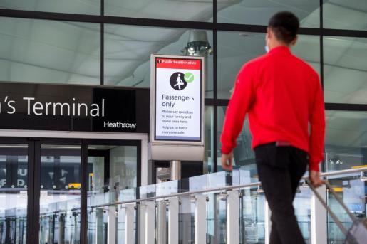 Imagen del aeropuerto de Heathrow.