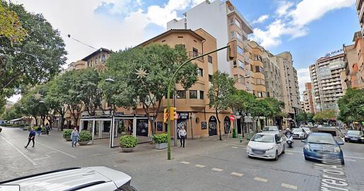 El siniestro tuvo lugar en la intersección de las calles Antoni Marquès con Blanquerna.