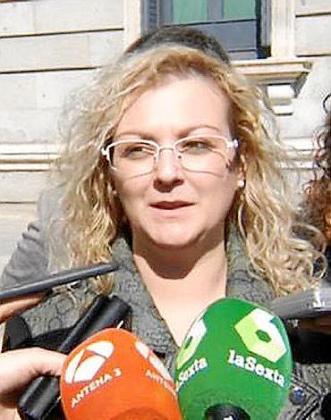La presidenta de Infancia Libre, María Sevilla.