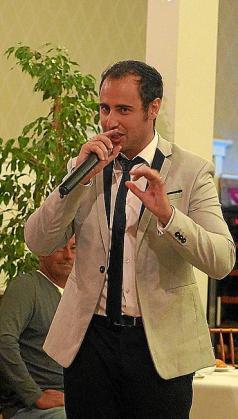 El tenor Álvaro Sánchez.