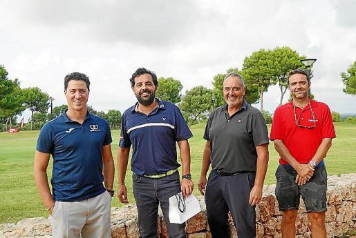 Pedro Pomar, Bernardo Calvet, Ferran López y Sacha Torner.