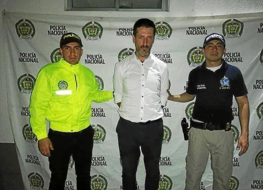 Carlos García Roldán fue detenido en Colombia en febrero de 2019.