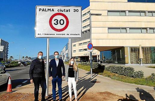 Este miércoles ha entrado en vigor el nuevo límite de velocidad en Palma.