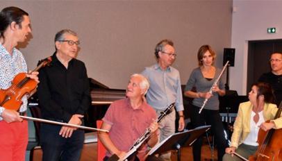 El Ensemble Musiques Présentes es uno de los participantes en el XLI Encontre Internacional de Compositors.
