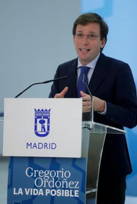 El portavoz nacional del PP, José Luis Martínez-Almeida.
