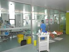 Interior del hospital de Son Espases