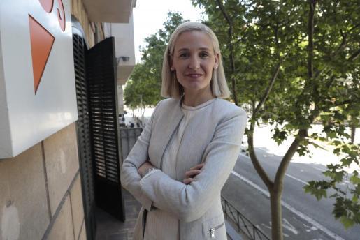 Eva Pomar, portavoz de Ciudadanos al Ajuntament de Palma.