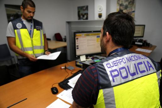 La Policía Nacional arrestó al varón el pasado miércoles .