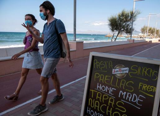 La mascarilla es obligatoria en Baleares desde julio.