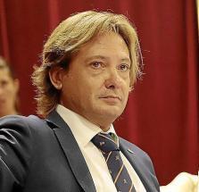 El líder de Vox en Baleares, Jorge Campos.