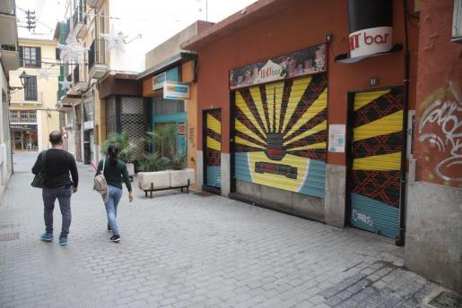 Imagen de la fachada del bar Hat.