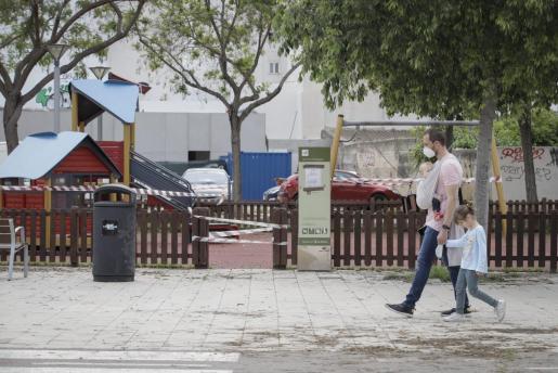 Los parques infantiles están cerrado en Baleares.