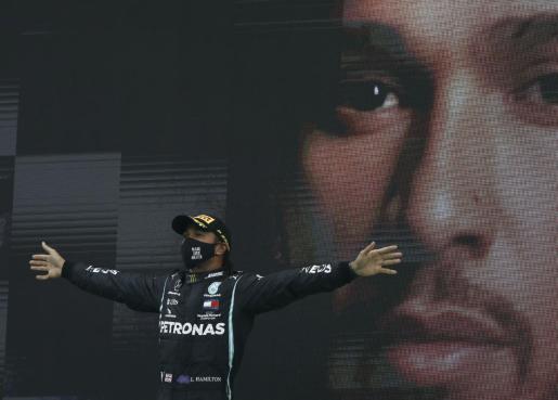 Hamilton se convierte así en el piloto más laureado de la historia de la Fórmula 1.