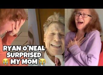 Ryan O'Neil, actor de 'Love Story', sorprende a una fan que padece Alzhéimer