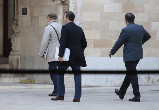 Javier Barinaga, Manuel Penalva, Miguel Ángel Subirán en una reciente imagen.