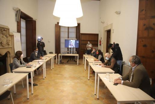 Reunión del Govern con las patronales de restauración, esta tarde en la Conselleria de Model Econòmic, Treball i Turisme.
