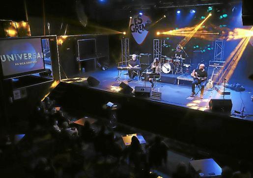 Imagen de la actuación del grupo Lost in Translation en Es Gremi, hace unos días.