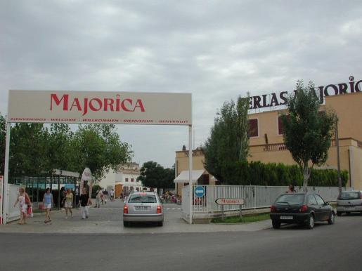 Imagen de archivo de la fachada de Majórica.