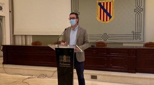 El portavoz adjunto del PP balear, Toni Costa.