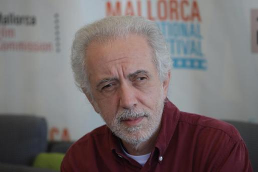 Fernando Trueba, durante la rueda de prensa en Palma.