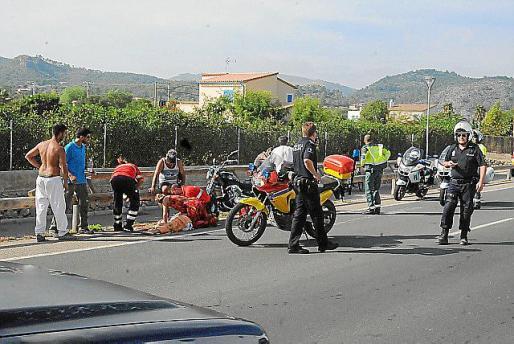 Policía Local y Guardia Civil se hicieron cargo de la investigación.