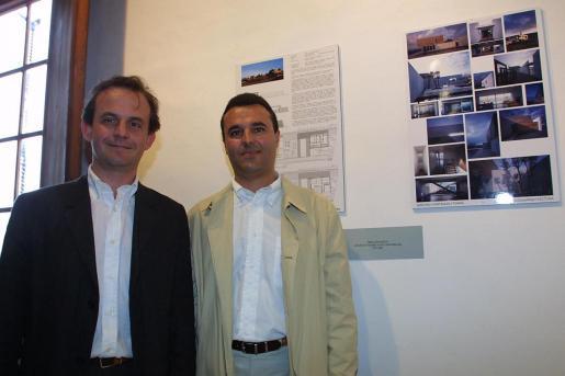 Vicente Tomás y Ángel Sánchez-Cantalejo, autores del proyecto premiado.
