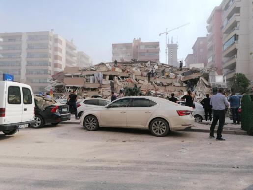 El terremoto ha causado graves daños materiales.