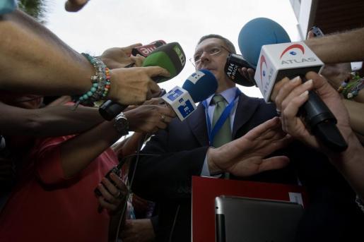 El ministro de Justicia, Alberto Ruíz Gallardón.