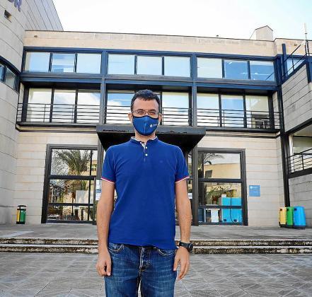 El matemático y profesor de la UIB, Daniel Ruiz.