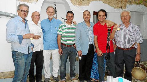 Luis Maraver, Ricardo Gago, Nils Burwitz, Miquel Llabrés, Toni Salas y Miquel y Tomeu 'Llargo'.