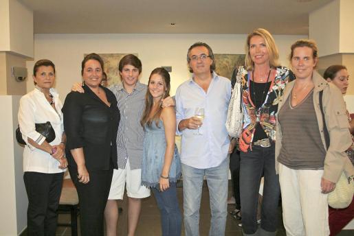 Isabel Puigdorfila, Carmen Enseñat, Ana y Toni Morey, Antonio Amorós, Britta Ploenzke y Silke Reinhold.