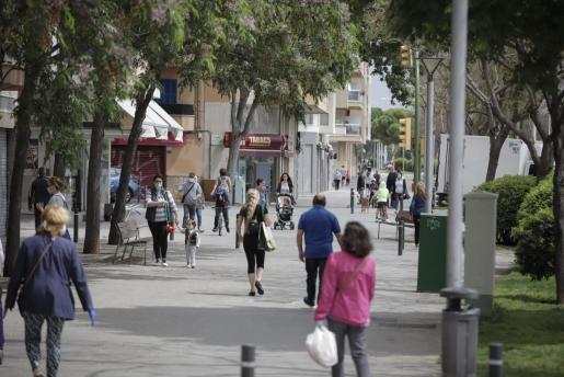Palma es el municipio en el que más suben los contagios en términos absolutos.