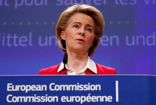 La presidenta de la Comisión Europea, Úrsula von der Leyen, en una imagen de archivo.
