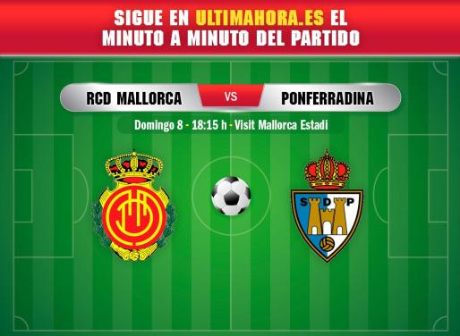 El Real Mallorca recibe este domingo en Son Moix a la SD Ponferradina.