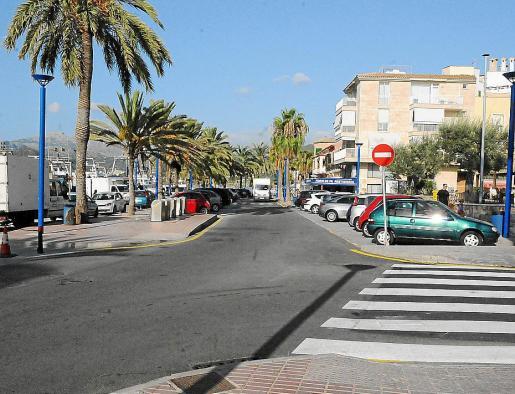 Imagen de la avenida Mateu Bosch del Port d'Andratx. g Foto: MICHELS