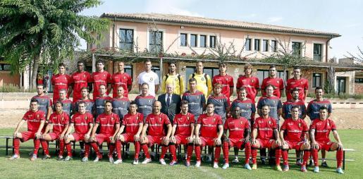 Foto oficial equipacion Mallorca.