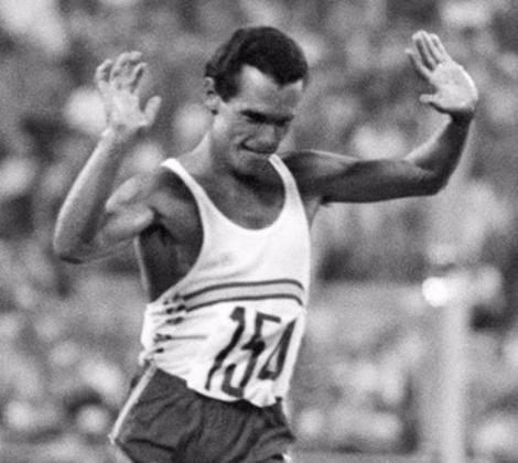 El atleta español Jordi Llopart.