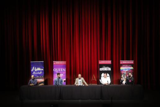La presentación ha contado con representantes de los espectáculos de la campaña de Navidad del Auditòrium.