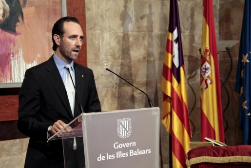 El preseidente del Govern, José Ramón Bauzá.