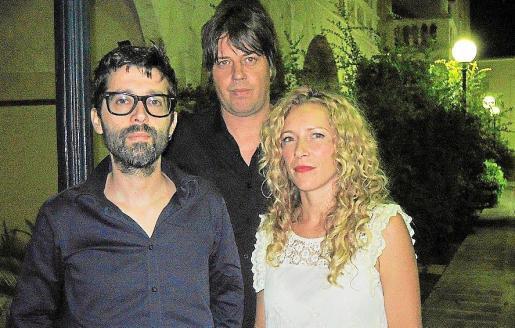Paco Torres, Steve Withers y Adela Peraita son los componentes de Sterlin, el verdadero plato fuerte de la noche.