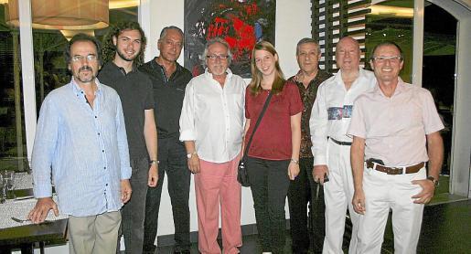 Joan Gayá, Joan Llull, Pascual de Cabo, José Luis Quereda, Elena Zumbruch, Basilio Escudero, Onofre Prohens y Rolf Zumbruch.