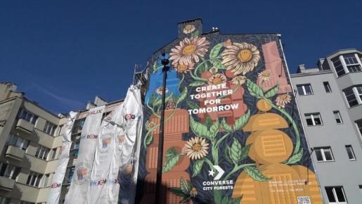 Con solo 10 murales consiguen el mismo resultado que 4.594 árboles y todo gracias a su pintura fotocatalítica con dióxido de titanio,