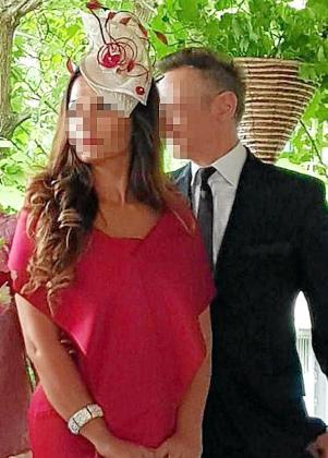La acusada, que conoció al empresario alemán que la denunció en Tinder, en una foto de la prensa rosa rumana.