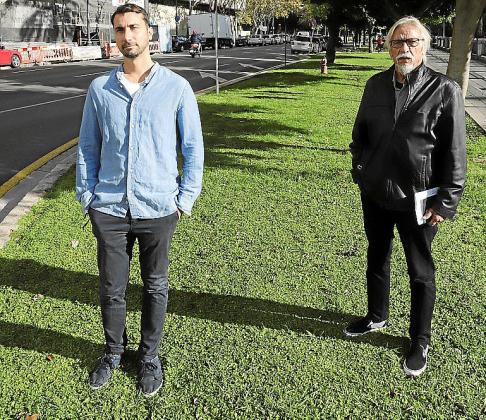 El productor Pere Salom y el director Antoni Maria Thomas.