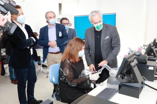 Con estos simuladores también se pueden trabajar en el área de anestesia, proyecto que se está llevando a cabo con la Universidad de Nueva York.
