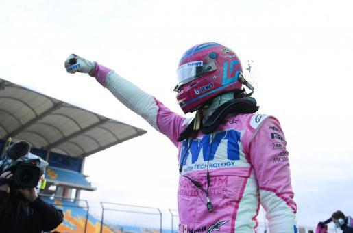 El piloto canadiense Lance Stroll (Racing Point) se ha llevado una sorprendente pole, la primera de su vida.