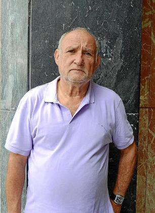 El escritor Sebastià Manresa, en Palma.