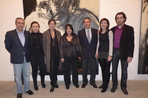 Matías Pérez-Such, Bel Font, Joana Barceló, María Carbonero, Salvador Palou de Comasema, Nanda Ramon y Pere Joan Martorell.